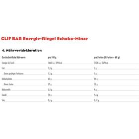CLIF Bar Energybar Sport Ernæring Chokolade/mynte 12 x 68g